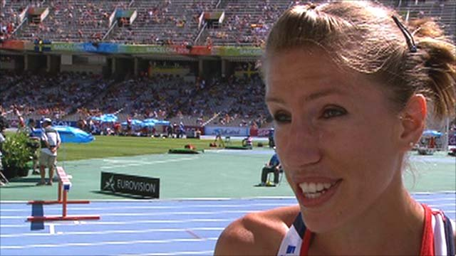 Great Britain 3000 steeplechaser Hatti Dean