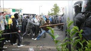 Ardoyne rioting
