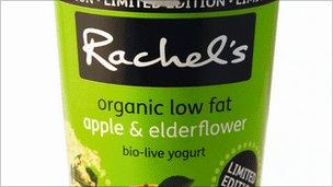 A Rachel's yogurt