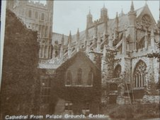 Postcard of Exeter Cathedral