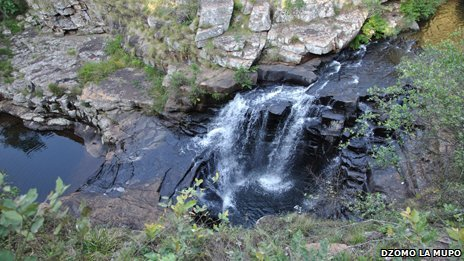 Phiphidi Waterfall in Venda is part of a sacred site used by the local community to speak to the ancestors