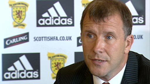 New SFA chief executive Stewart Regan