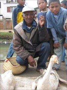 Smallholder Justin Rakotomakefa