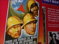 Propaganda poster for the International Brigade