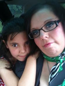 Sarah Taylor and her daughter Nadia. Pic: Sarah Taylor