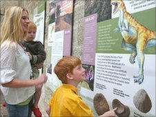 Inside the new Cotswolds discovery centre in the Old Prison, Northleach