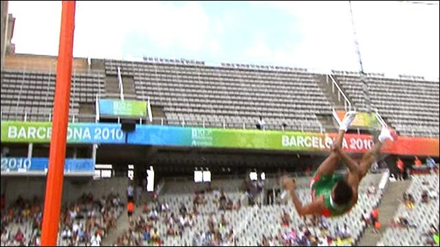 Euro athletics: Snap shock for Portuguese pole vaulter