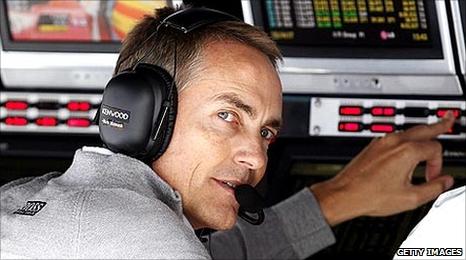 McLaren boss Martin Whitmarsh
