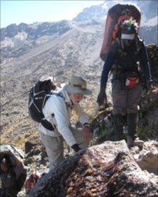 George Solt climbs Kilimanjaro