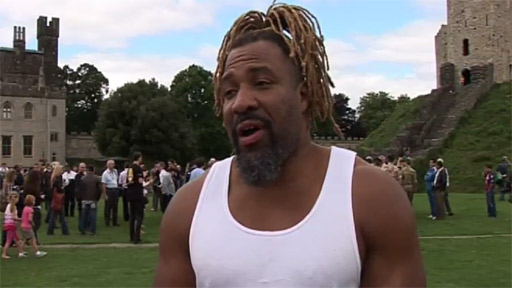 Shannon Briggs at Cardiff Castle
