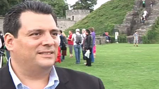 WBC secretary general Mauricio Sulaiman at Cardiff Castle