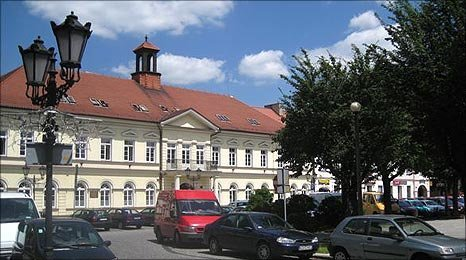 Oswiecim town centre