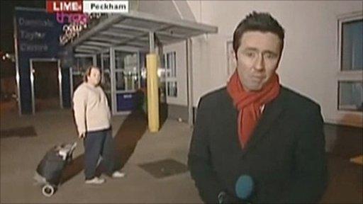 News Raider - Paul Yarrow - makes an appearance on BBC London TV