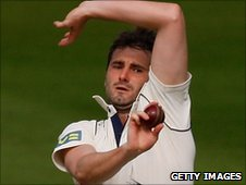 Middlesex paceman Tim Murtagh
