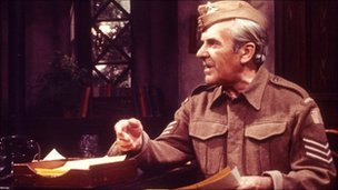John Le Mesurier as Sgt Arthur Wilson in Dad's Army