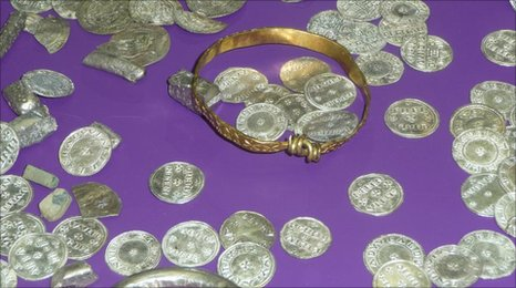 The Vale of York Viking Hoard, Yorkshire Museum.