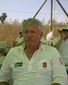 Stanley Perlman, chairman of the Israel Cricket Association