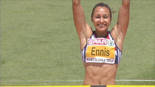 Britain's Jessica Ennis