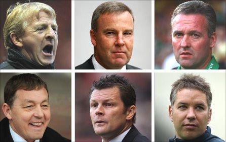Gordon Strachan, Kenny Jackett, Paul Lambert, Billy Davies, Steve Cotterill, Darren Ferguson