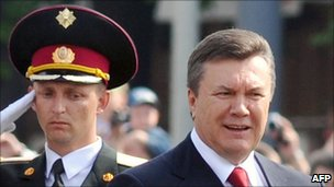 President Viktor Yanukovych
