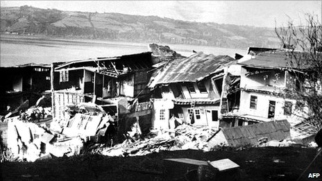 Earthquake in Chile, 1960