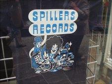 Pete Fowler's Spillers T-shirt