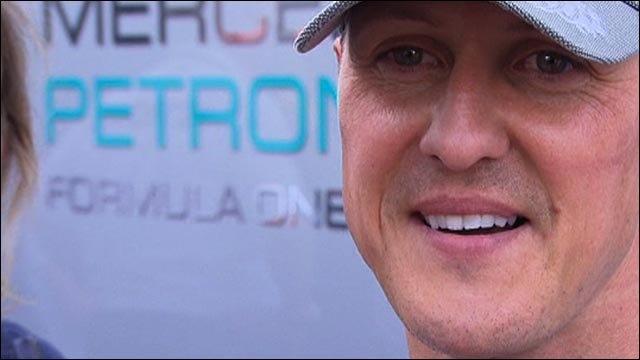 Schumacher gloomy on Mercedes' chances