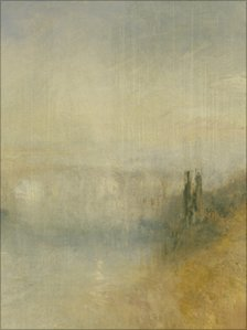 Detail from A River Seen from a Hill by JMW Turner