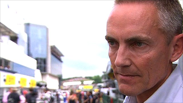 McLaren team principle Martin Whitmarsh