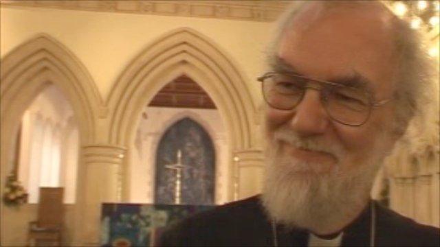 The Archbishop of Canterbury, Dr Rowan Williams