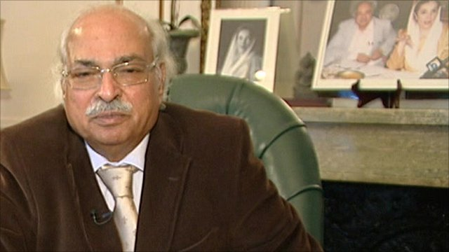 Pakistan's High COmmissioner to Britain, Wajid Shamsul Hasan