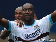 West Ham United striker Carlton Cole