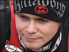 Stoke Potters rider Hynek Stichauer