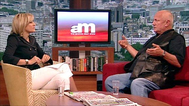 Emily Maitlis interviews Steven Berkoff