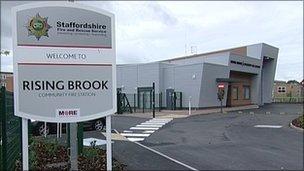 Rising Brook community fire station