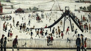 The Playground by Laurence Stephen Lowry (1945) - Christies/PA