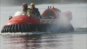 Gloucestershire Fire and Rescue hovercraft