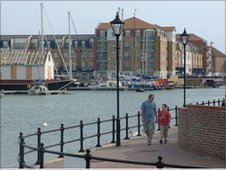 Sovereigh Harbour in Eastbourne