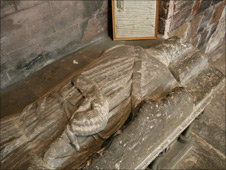 Roger of Montgomery's tomb
