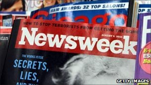 The 9 August edition of Newsweek