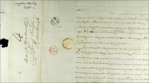 Robert Burns letter