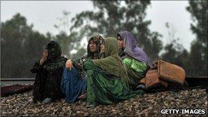 Pakistan flooding victims