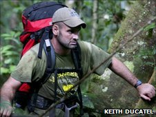 Ed Stafford in the Amazon