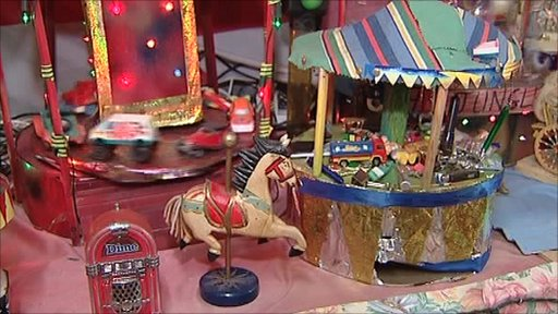 Miniature fairground