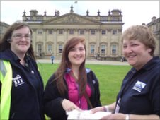 Harewood House Girl Guide camp