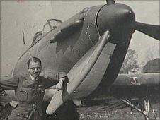 Pilot Peter Hairs