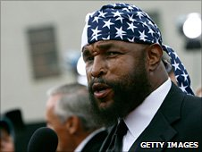 Mr T - Laurence Tureaud - won the part as Clubber Lang