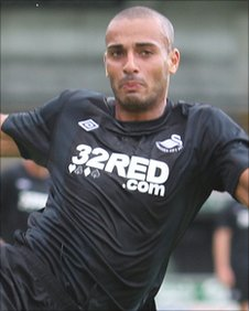 Darren Pratley is an important figure in Swansea's midfield