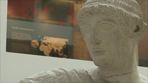 Ashmolean statue