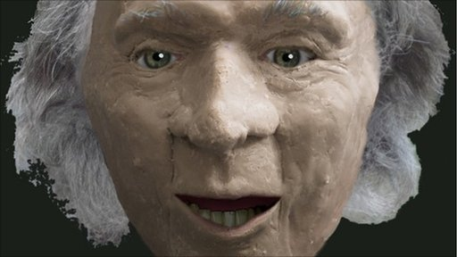 Facial reconstruction of Gristhorpe Man. Copyright: Dr Alan Ogden.